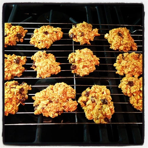 Oats and Agave: Clean Oatmeal Chocolate Coconut Cookies!