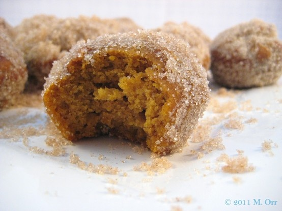 Baked Pumpkin Doughnut Holes | Favorite Recipes | Pinterest