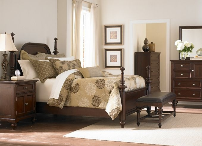 furniture middleton king poster bed bedroom furniture havertys