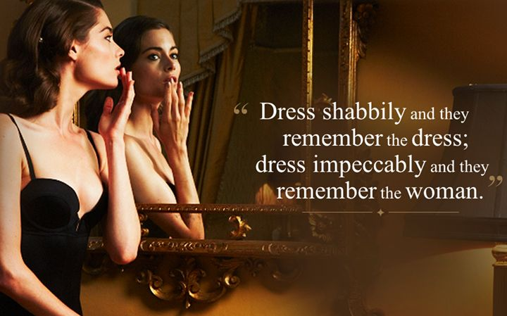 women and fashion quote