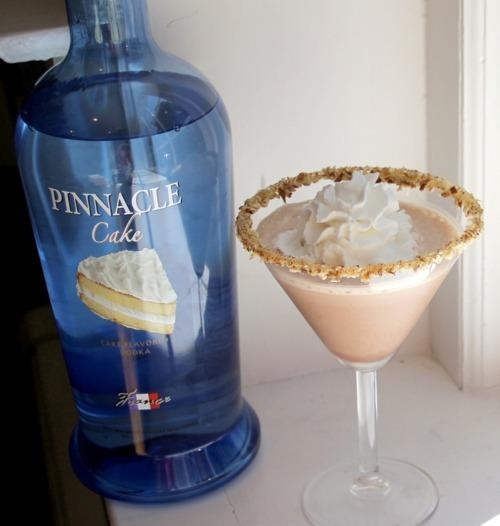 Chocolate Cake Flavored Vodka Drink Recipes