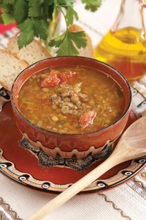 Hearty Lentil Soup   j - food   Pinterest