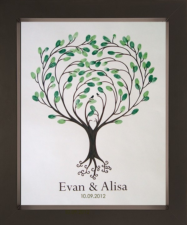 Family Tree Thumbprint Template 28 Images Original Baby Shower