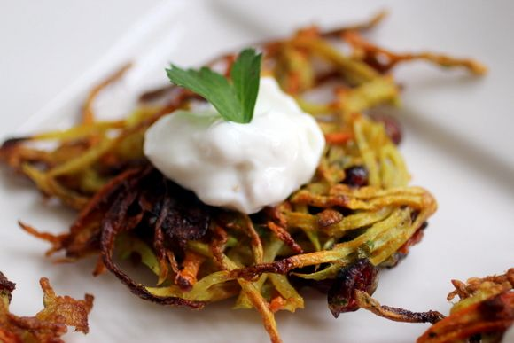... , Scallion & Dried Cranberry with Preserved Meyer Lemon Sour Cream