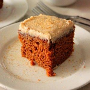 Gingerbread Snack Cake Recipe - RecipeChart.com #Christmas #Dessert # ...
