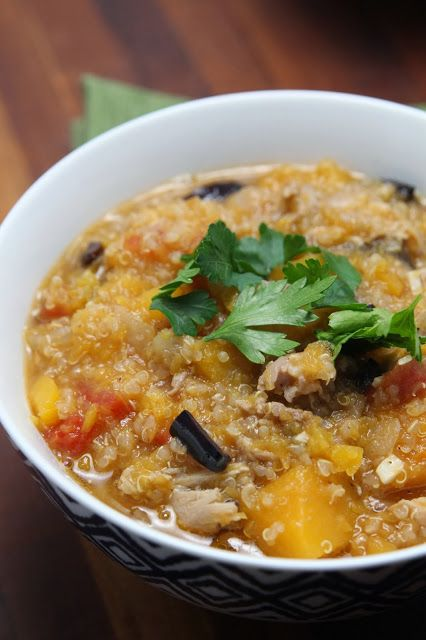 Hearty Chicken Stew with Butternut Squash and Quinoa {from carmens ...