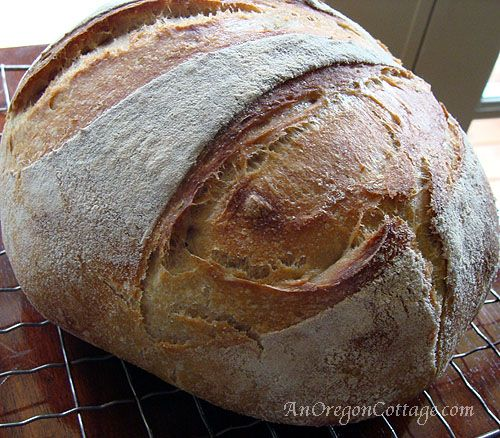 Easy Sourdough Artisan Bread from one of my favorite blogs.