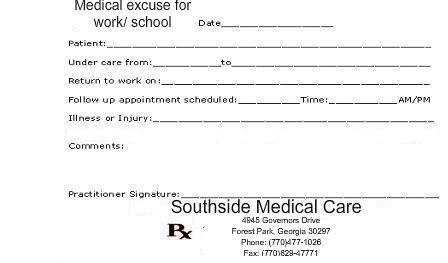 Free Printable Doctor Notes – printable calendar