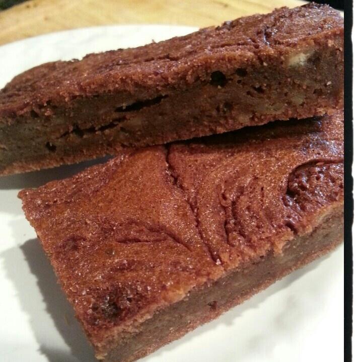 Chocolate banana bread brownies   Food - Bars & Brownies   Pinterest