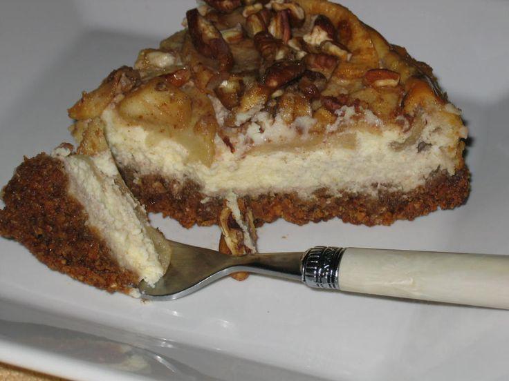 apple pecan cheesecake | Gluten Free For Good