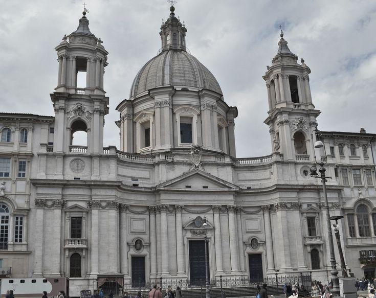 ITALIAN BAROQUE ARCHITECTURE  Borromini  Church of S  Agnese  Piazza    Italian Baroque Architecture