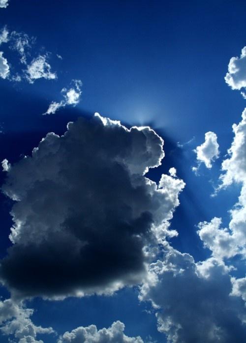 Dark clouds by Fekete Zoltán-