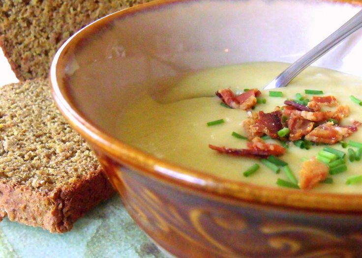 Potato And Leek Soup | CSA Recipe-bonanza! | Pinterest