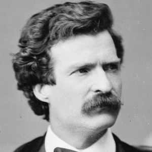 MARK TWAIN (1835-1910)  Author of our national epic, he was the most unsentimental observer of our national life.