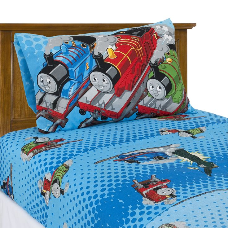 thomas the train bedding twin sheet set from ty 39 s toy box