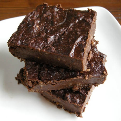 ... black bean brownies. sounds weird, but supposedly tastes amazing
