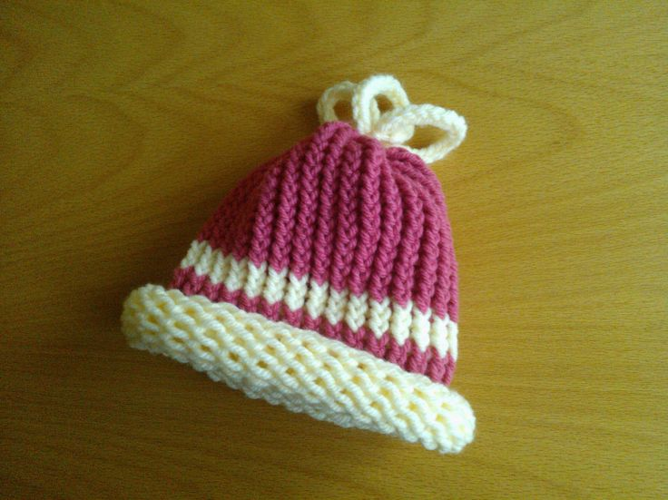 Another baby loom knit hat LOOM 13 Pinterest