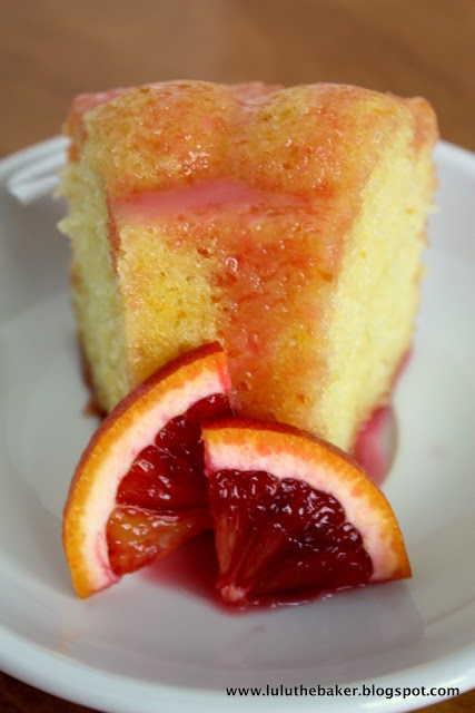 Lulu the Baker: Blood Orange Yogurt Cake | Dessert Recipes | Pinterest