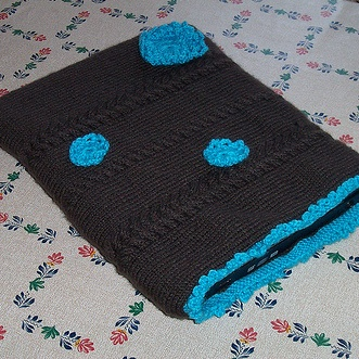 Free Knitting Pattern - Phone, Tablet & Laptop Covers: Lovely Laptop