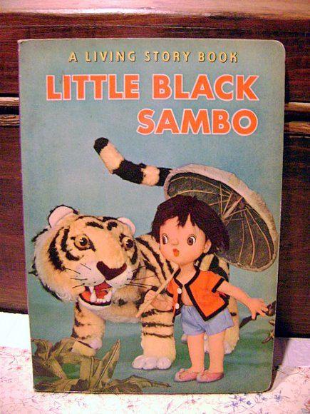Vintage childrens book little black sambo by yourgrandmasstash 65 00