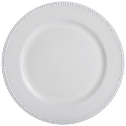 koyal charger plates white set of 24 by koyal high quality