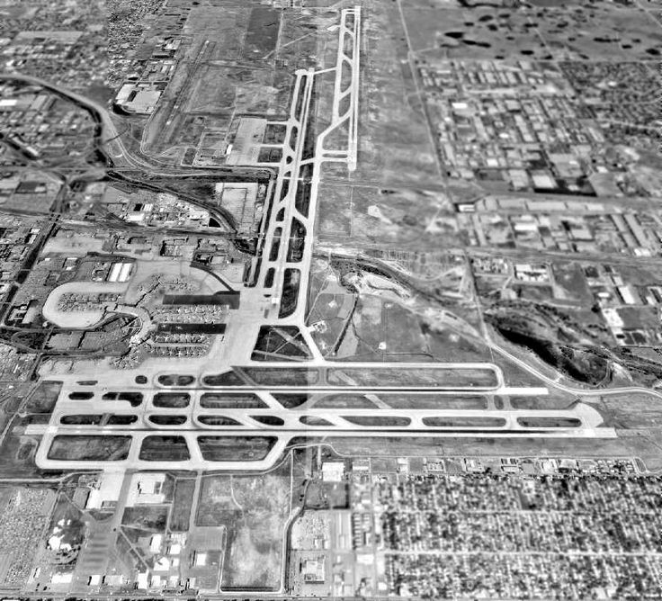 The Old Stapleton Airport Runways
