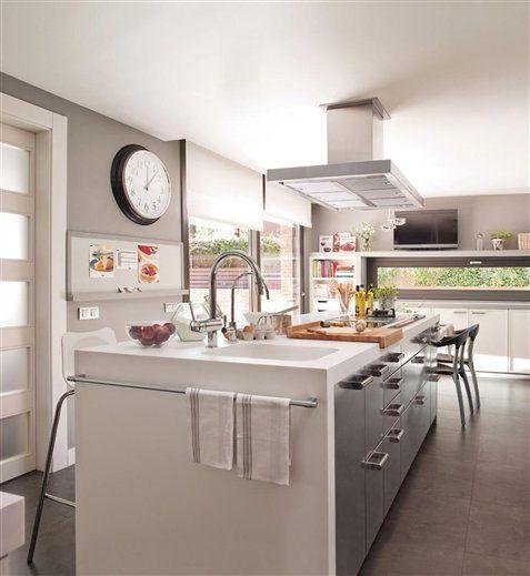 5 tipos de cocinas para 5 tipos de cocineros y cocineras gastronom a - Islas de cocina medidas ...