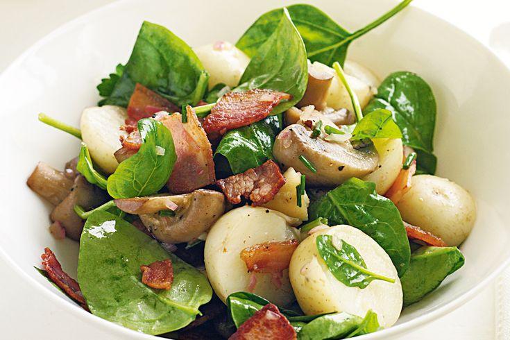 Warm bacon and potato salad | Recipes | Pinterest