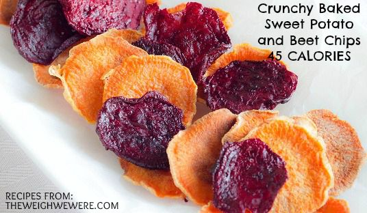 Crunchy Baked Sweet Potato and Beet Chips – 45 Calories! Read the ...