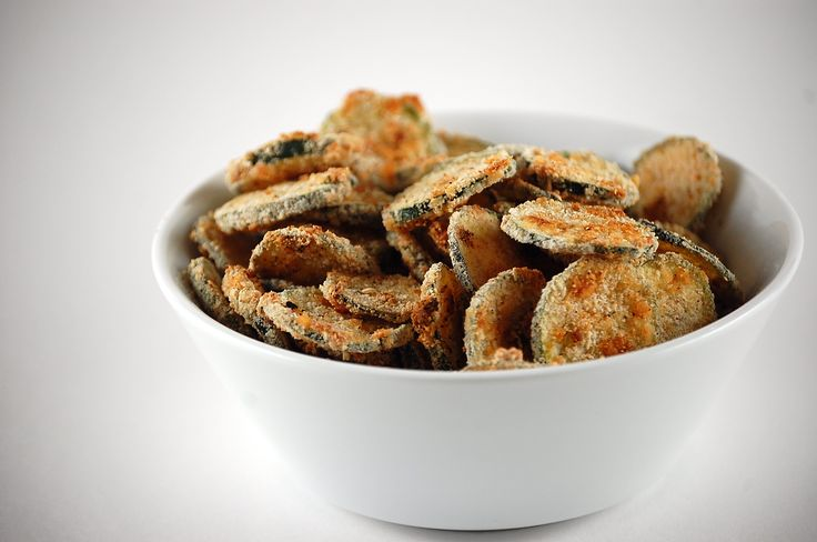 Baked Zucchini Chips | { recipes to try } | Pinterest