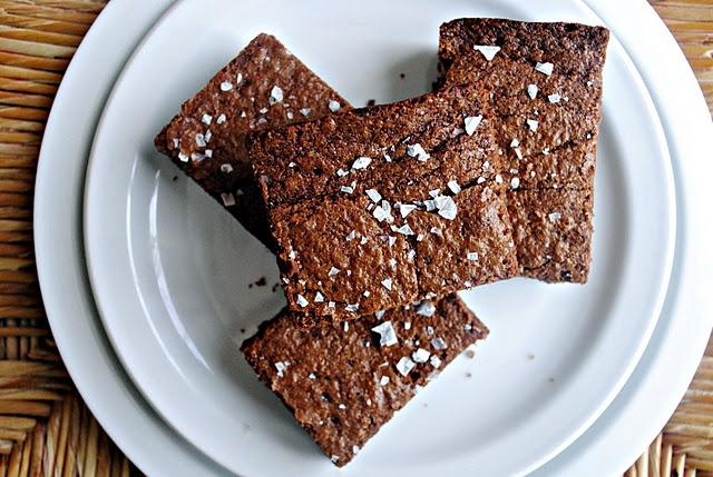 Salted Fudge Brownies | Sweets | Pinterest