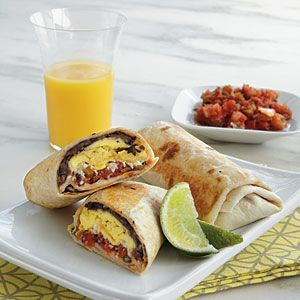 Mexican Breakfast Burritos | CookingLight.com