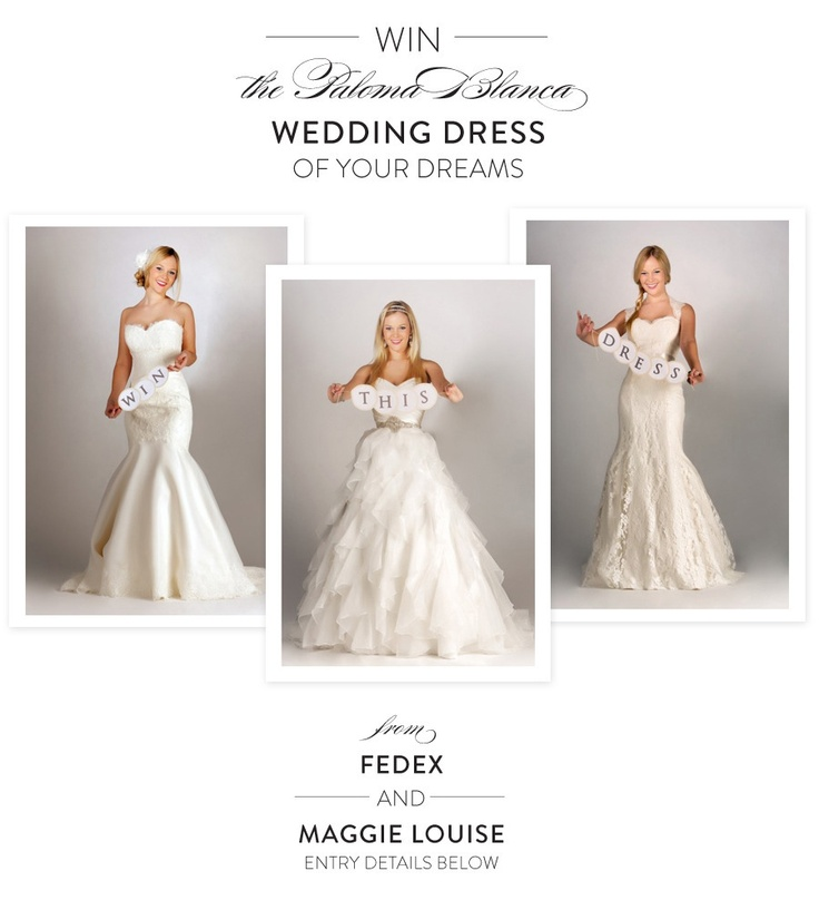 Wedding dress giveaway newest for Free wedding dresses for military brides