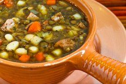 Kalyn's Kitchen®: Recipe for Cannellini Bean and Lentil Stew with Ham ...