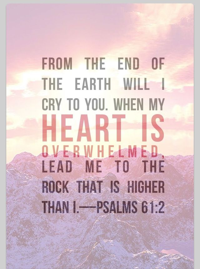 psalm 61 2 kjv images