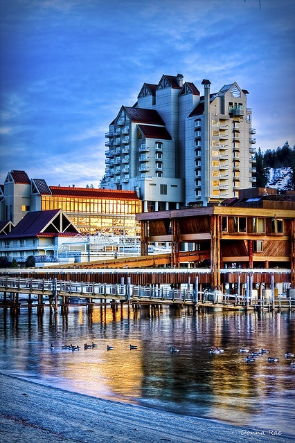Coeur d'Alene Resort, Coeur d'Alene, ID  So beautiful