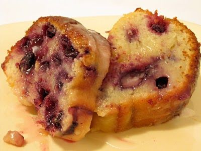 ... SMOTHERED PORK CHOPS, CREAMED SPINACH & LEMON BLUEBERRY YOGURT CAKE