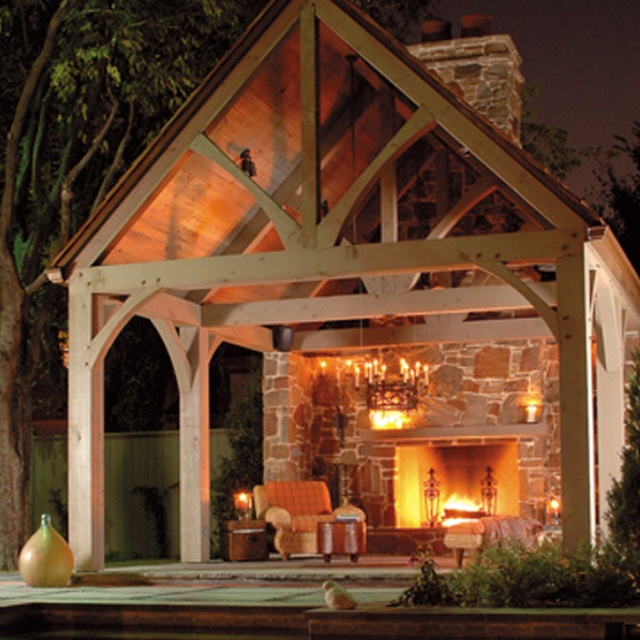 Outdoor fireplace Outdoors