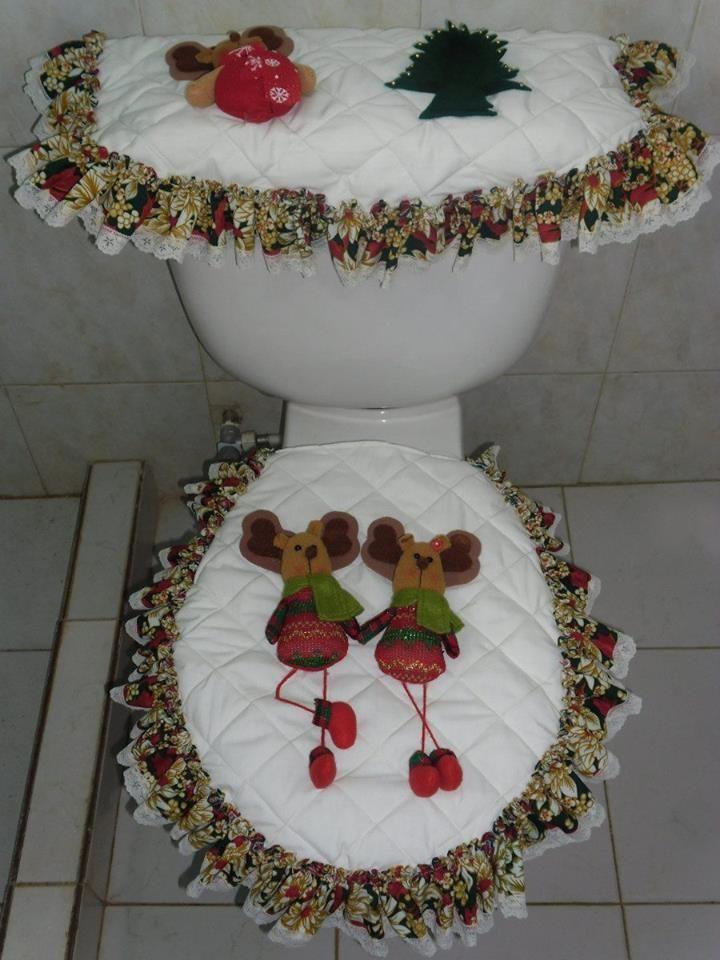 Otro estilo para el ba o arreglos navide os pinterest for Decoraciones de bano