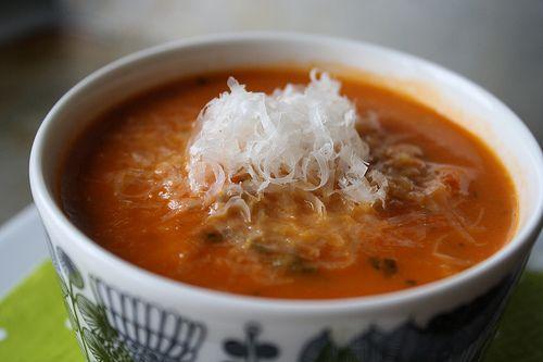 Tomato Bread Soup | Soups, Stews & Chilis | Pinterest
