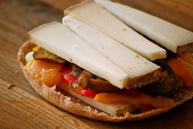 Drunken mushroom grilled cheese. | Cheese Sandwiches | Pinterest