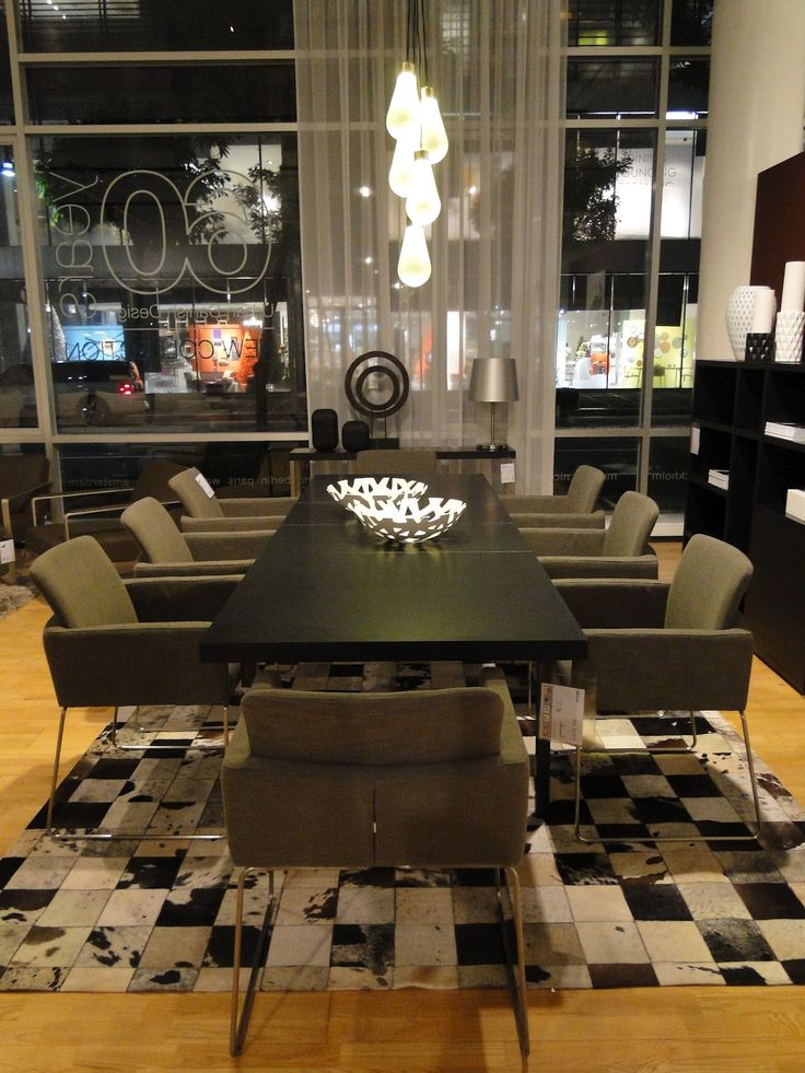 BoConcept Dining Table With Nomi Chairs BoConcept Pinterest