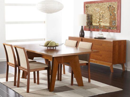 Scandinavian Designs Tables Randers Dining Table Light Cherry