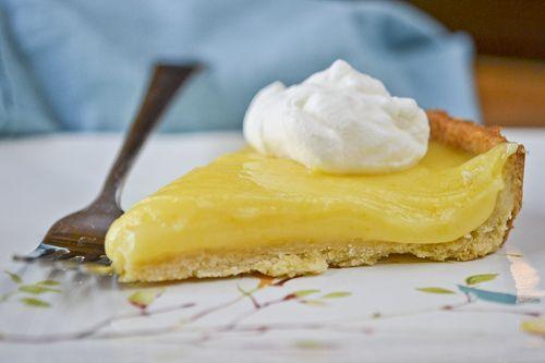 Lemon Curd Pie Recipe — Dishmaps
