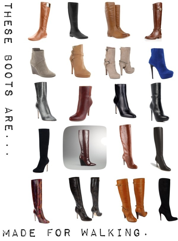 these boots are made for walking my style