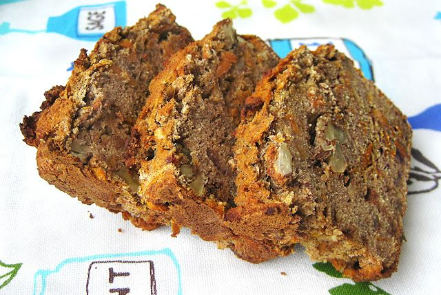 Gluten-Free Carrot Nut Bread | Gluten Free Recipes | Pinterest
