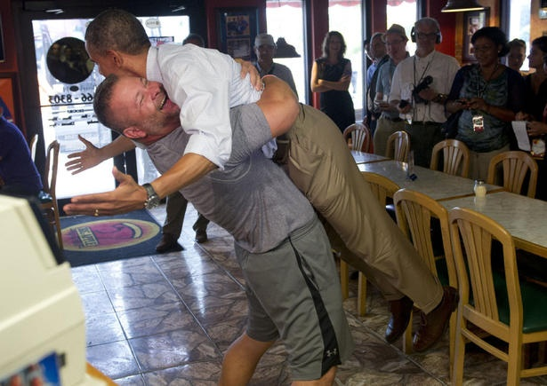 Obama gets a lift from enthusiastic Florida Republican