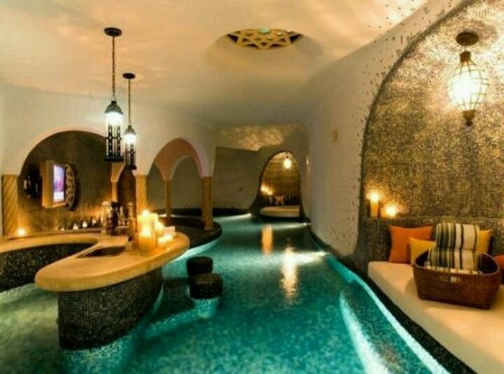 basement pool bar indoor pool pinterest