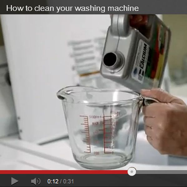 How To Clean Your Washing Machine Natural Pinterest