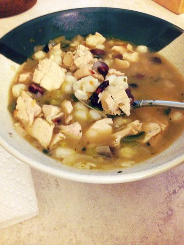 ... videos. Suction-mounts & moves about instantly. Chicken Hominy Stew